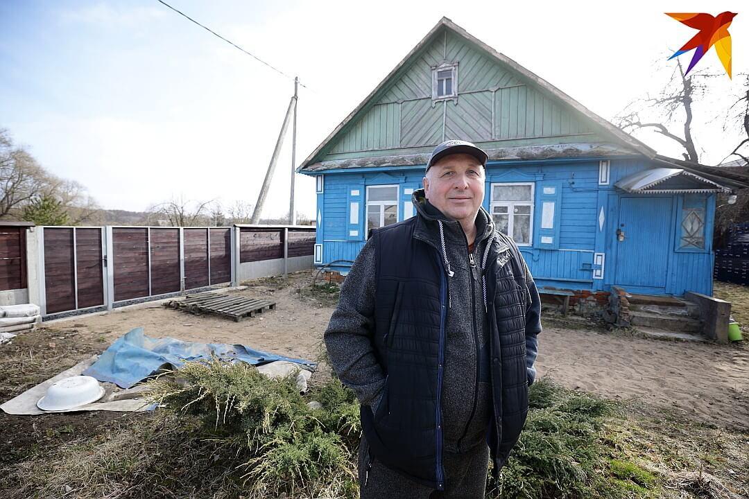 Виктор Позняк у родового гнезда Михалков.